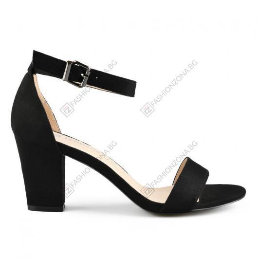Черни дамски елегантни сандали Arabella