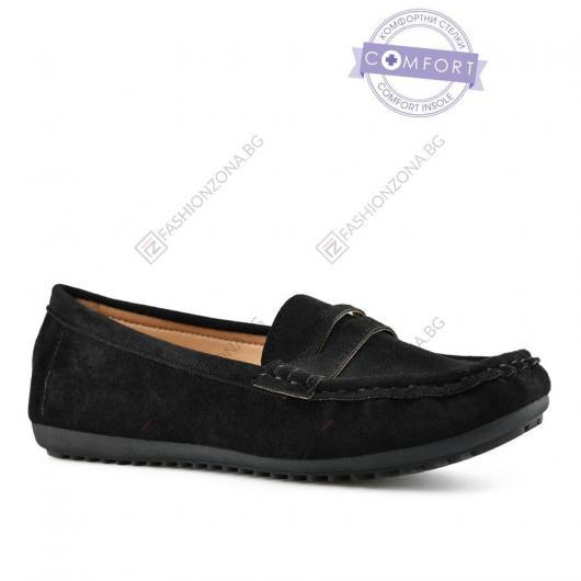 Черни дамски ежедневни обувки Emer