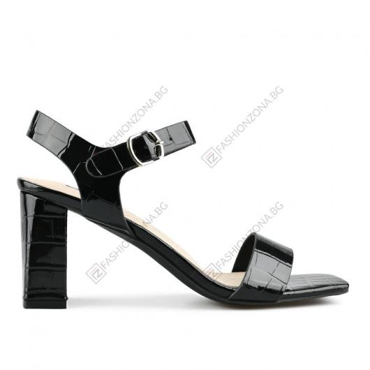 Черни дамски елегантни сандали Liliya