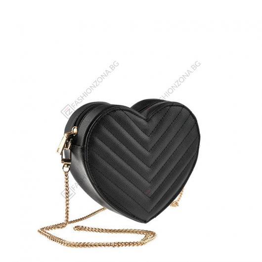 Черна дамска ежедневна чанта Terra