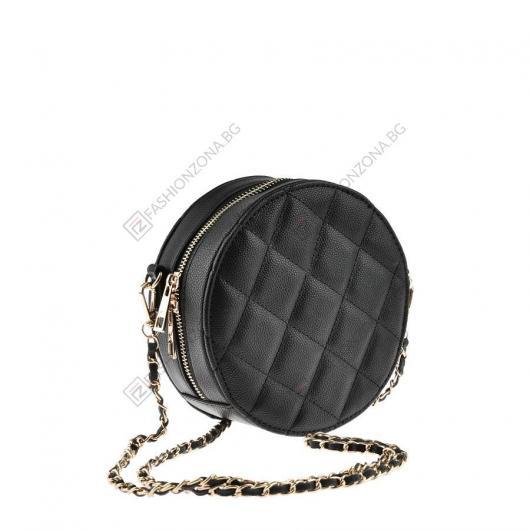 Черна дамска ежедневна чанта Eliska