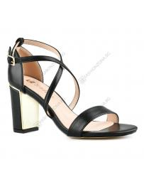 Черни дамски елегантни сандали Ivona