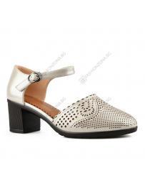 Бежови дамски ежедневни сандали Katrine