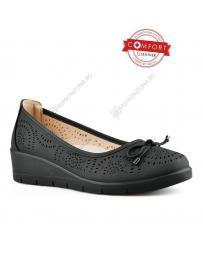 Черни дамски ежедневни обувки Rosabel