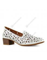 Бели дамски ежедневни обувки Ima