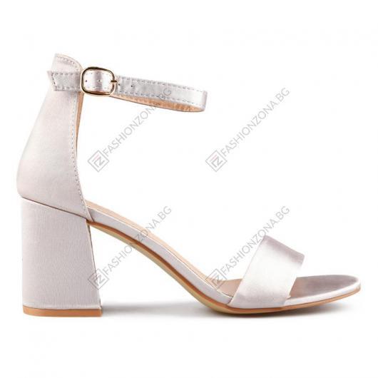 Розови дамски елегантни сандали Arin