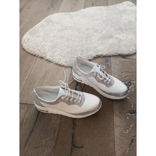 Бели дамски ежедневни обувки Thuy