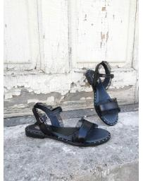 Черни дамски ежедневни сандали Nitika