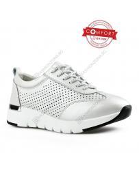 Бели дамски ежедневни обувки Adina