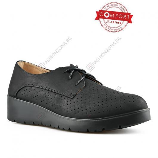 Черни дамски ежедневни обувки Ruuta
