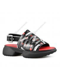 Черни дамски ежедневни сандали Hedda
