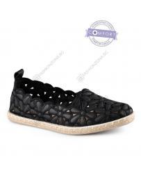 Черни дамски ежедневни обувки Decima