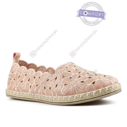 Розови дамски ежедневни обувки Ishbel