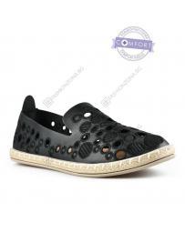 Черни дамски ежедневни обувки Kato