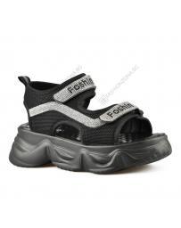 Черни дамски ежедневни сандали Bora