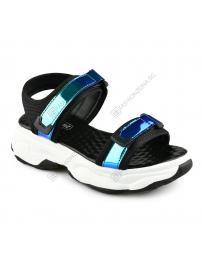 Черни дамски ежедневни сандали Zena