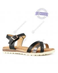Черни дамски ежедневни сандали Jun