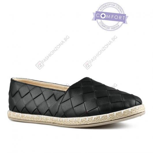 Черни дамски ежедневни обувки Berna