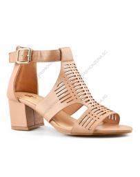 Кафяви дамски елегантни сандали Tamiko