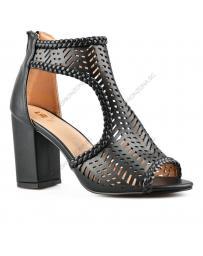 Черни дамски елегантни сандали Dada