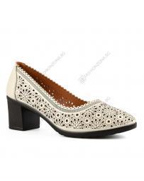 Бежови дамски ежедневни обувки Marika