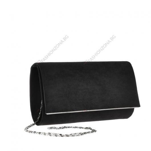 Черна дамска елегантна чанта Tone