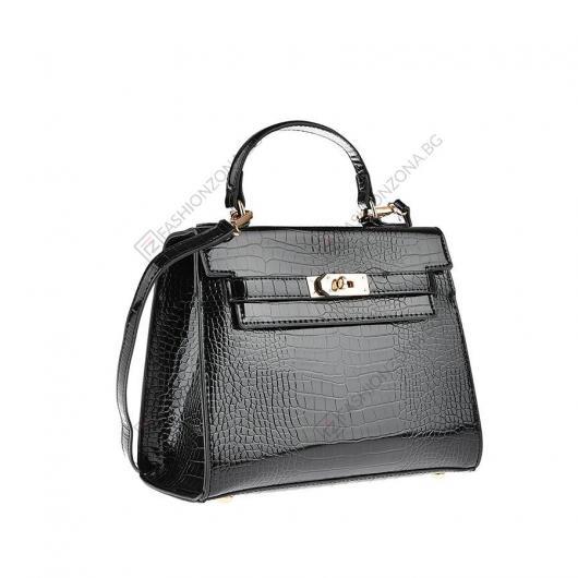 Черна дамска ежедневна чанта Juli