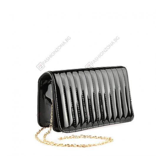Черна дамска елегантна чанта Eeva