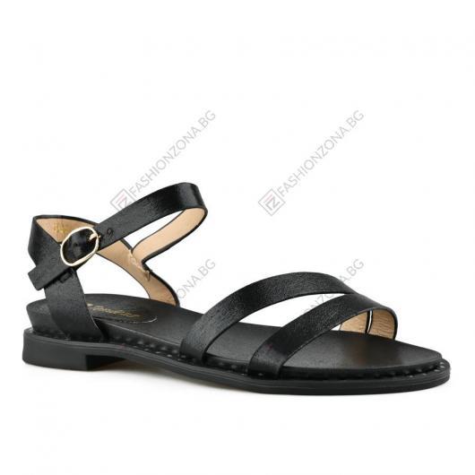 Черни дамски ежедневни сандали Aileas