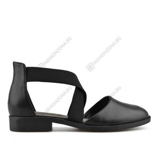 Черни дамски ежедневни сандали Davida