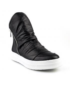 дамски ежедневни боти черни 0124859 в online магазин Fashionzona