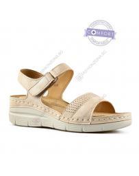 Бежови дамски ежедневни сандали Nomusa