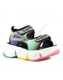 Цветни дамски ежедневни сандали Aqila