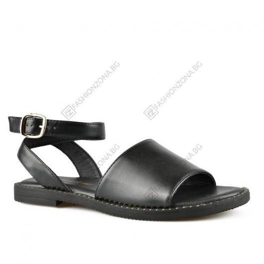 Черни дамски ежедневни сандали Zhen