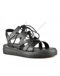 Черни дамски ежедневни сандали Fairy