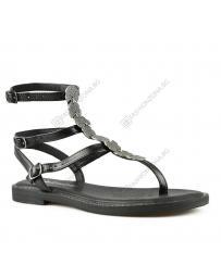 Черни дамски ежедневни сандали Serafima