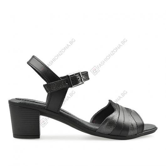 Черни дамски сандали Hollis