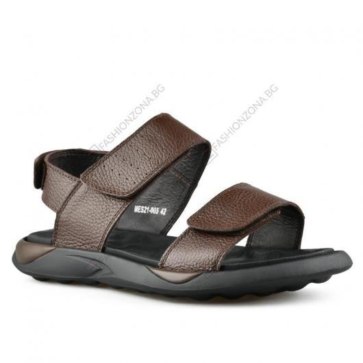Кафяви мъжки ежедневни сандали Amerigo