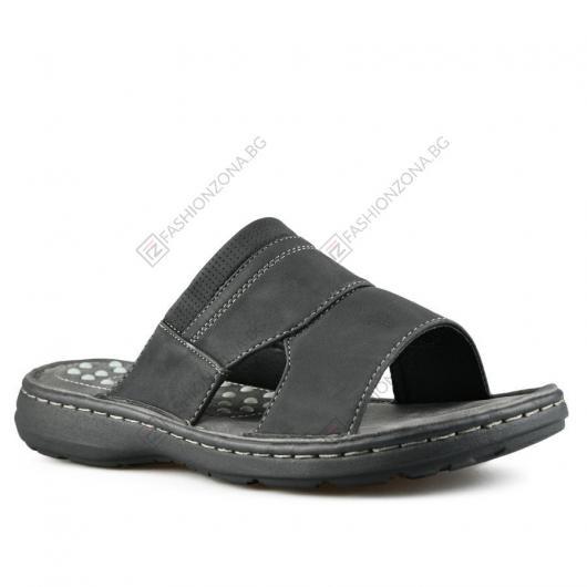 Черни мъжки ежедневни чехли Alfonso