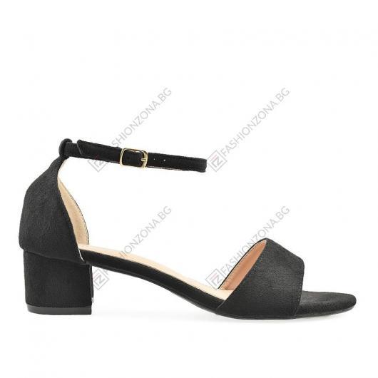 Черни дамски ежедневни сандали Agneta