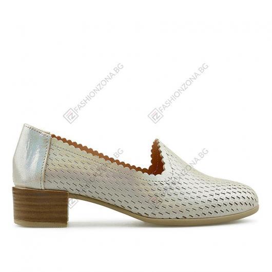 Бежови дамски ежедневни обувки Iolana