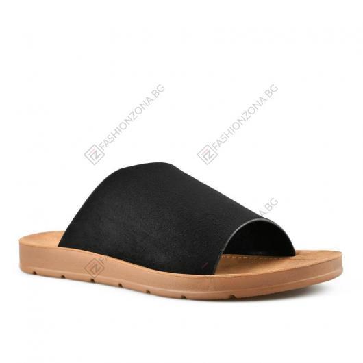 Черни дамски ежедневни чехли Ulyssa
