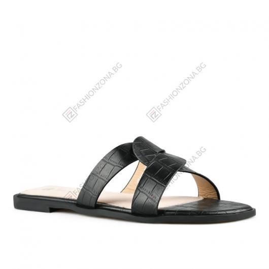 Черни дамски ежедневни чехли Tabby