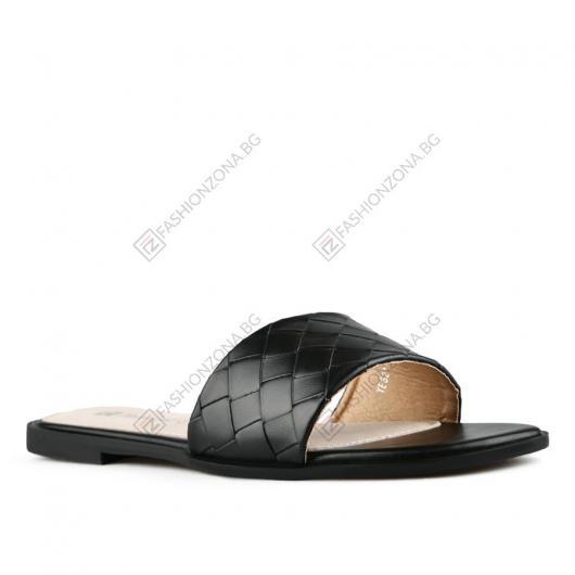 Черни дамски ежедневни чехли Xuan