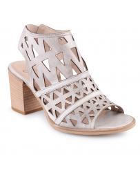 Сиви дамски ежедневни сандали Donielle в online магазин Fashionzona