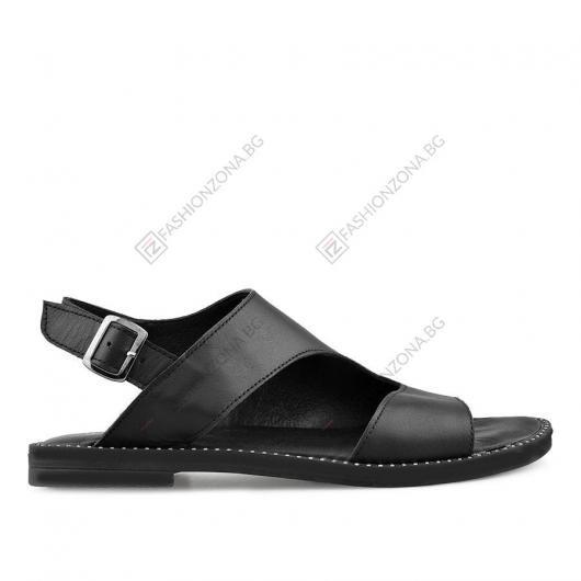 Черни дамски ежедневни сандали Eris