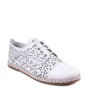 дамски ежедневни обувки бели 0127645 в online магазин Fashionzona