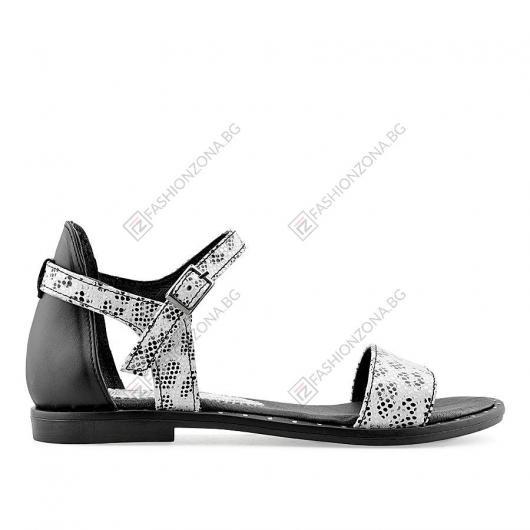 Черни дамски ежеденви сандали Larue