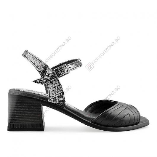 Черни дамски ежедневни сандали Dominika