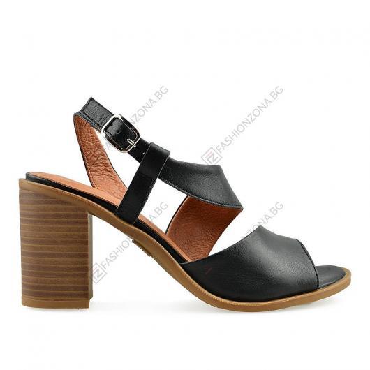 Черни дамски ежедневни сандали Ivana